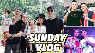 Cam Cam đi vườn thú | Ăn trưa cùng Đậu  | The Social Foot , The Alley | Gia Đình Cam Cam Vlog 32