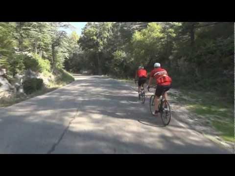 Cycling the Mont Ventoux - Tour de France ascent from Bedoin