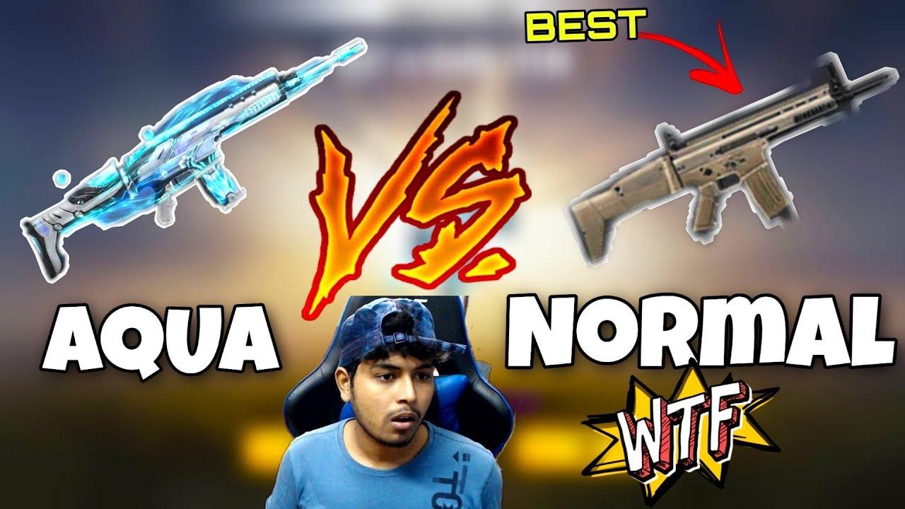 SCAR vs AQUA SCAR || PRO GAME-PLAY SOLO vs SQUAD || GARENA FREE FIRE