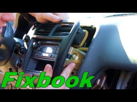 How to Remove Install Stereo & Retrieve Serial Number Honda Civic