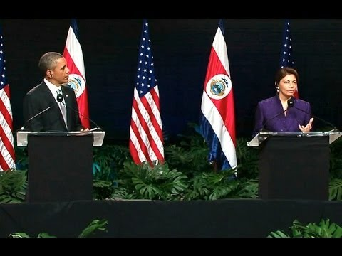 President Obama Holds a Press Conference with President Chin