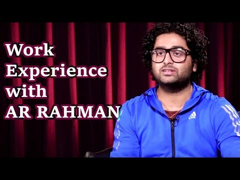 Arijit Singh Shares his Work Experience with AR Rahman | Soundtrack