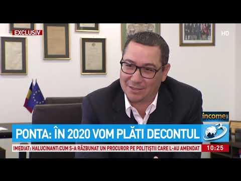 """Previziuni dure pentru români din partea lui Ponta: """"Cifrele arată toate un dezastru în 2020. V"""