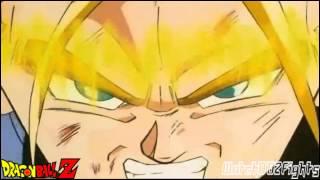 Trunks Attacks Vegeta