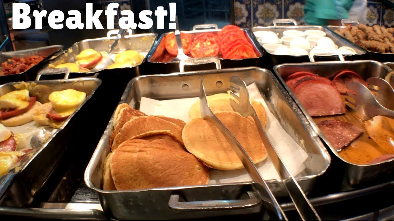 Carnival Cruise Breakfast Food