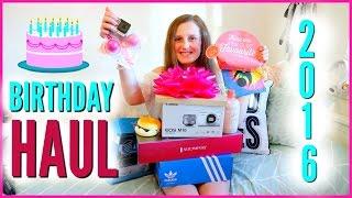 Birthday Haul 🎂 What I Got For My Birthday!