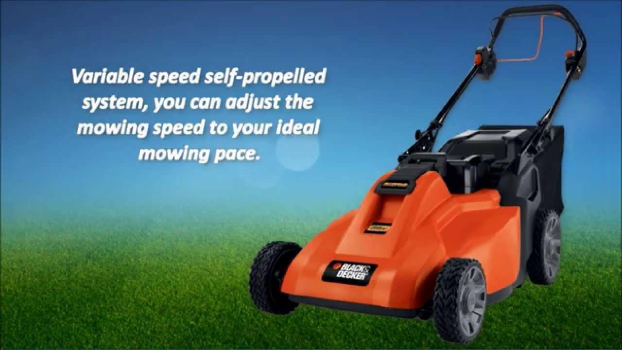 Black & Decker SPCM1936 Cordless Electric Lawn Mower