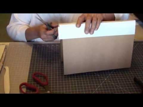 DIY Art Journal Using Manila Folders