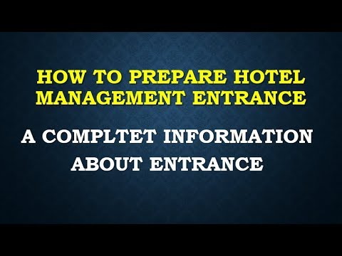 HOTEL MANAGEMENT  ENTRANCE SOLUTION SOLVED PAPER 1 2017 COACHING ONLINE CLASSES