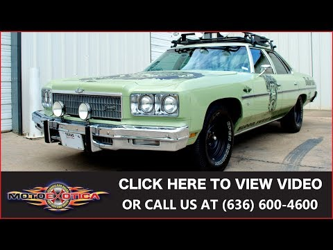 1975 Chevrolet Caprice Road Rally Car from Fast 'N Loud || For Sale