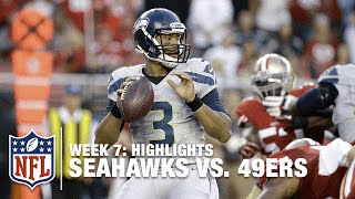 Seahawks vs. 49ers | Week 7 Highlights | NFL