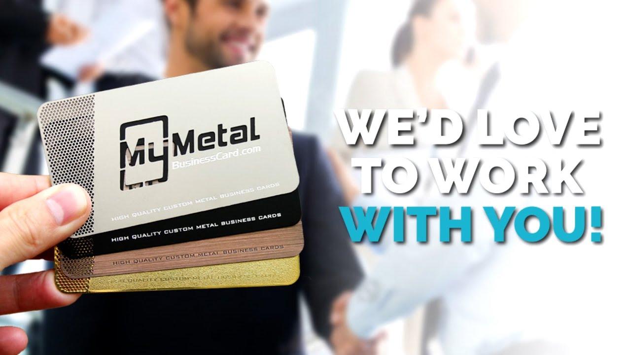 My metal business card customer reviews youtube my metal business card customer reviews colourmoves