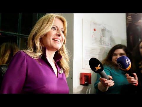 Zuzana Caputova poised to become Slovakia's first female president