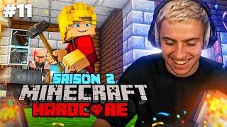 JE CRÉE LA FORGE DE MON VILLAGE ! (Aventure Minecraft Hardcore #11)
