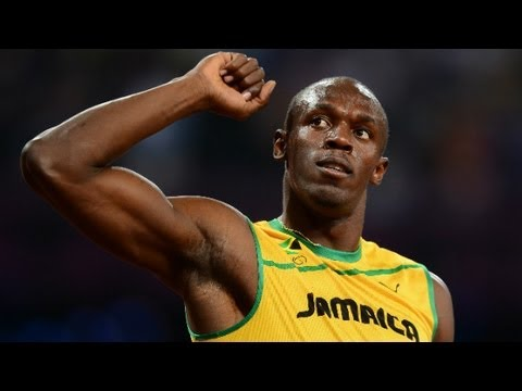 Watch crowds in London react to Usain Bolt's Olympic victory