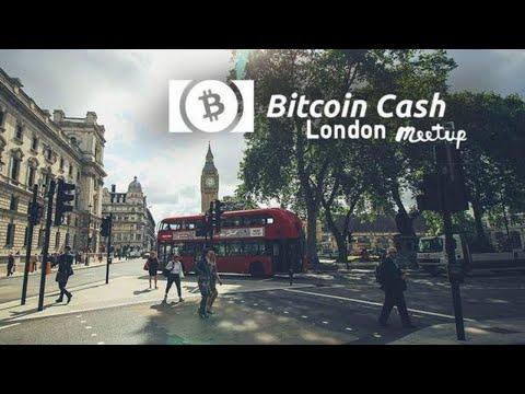 Bitcoin Cash London Meetup LIVE (Roger Ver, Rosco Kalis, Tobias Ruck, Brett Scott)