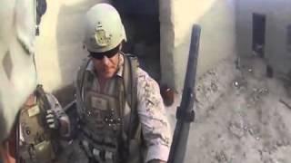 Шлем спас от пули американского солдата