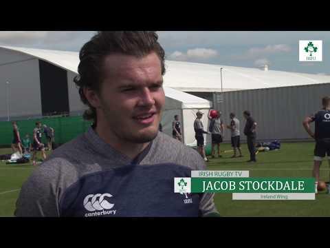 Irish Rugby TV: Jacob Stockdale on Ireland v Italy