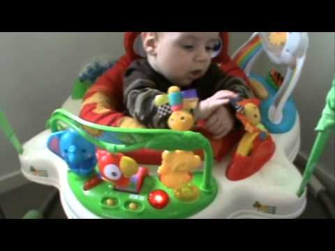 Product Review - Fisher Price Rainforest Jumperoo