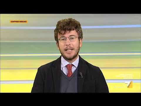 """Download ILVA, Diego Fusaro vs Andrea Romano: """"L'unica via è la nazionalizzazione"""", """"Mi fai sempre ..."""