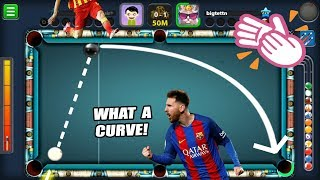 The BEST CURVE SHOT In 8 Ball Pool I've Ever Hit...(this might shock you)