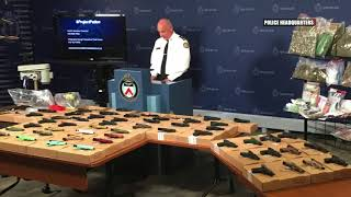 TORONTO GANG RAID:  1000+ charges laid against 75 people
