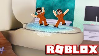 ROBLOX-We FLED BY the PRISON'S PRIVATION (prison Life)