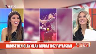 Hadise'nin Murat Boz paylaşımı kafaları karıştırdı Video