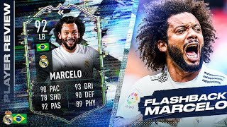 SHOULD YOU DO THE SBC??🤩 92 FLASHBACK MARCELO REVIEW! FIFA 21 Ultimate Team