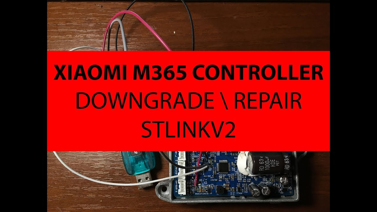 Xiaomi M365 Flashing Manual For Stlink V2 Youtube
