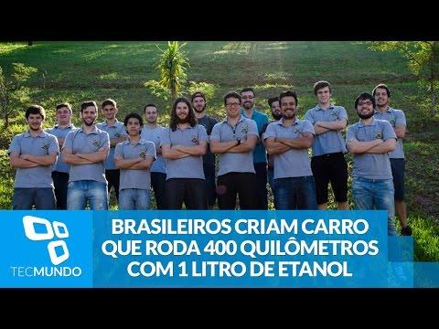 Brasileiros Criam Carro Que Roda 400 Quilômetros Com 1 Litro De Etanol