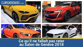 Les incontournables du Salon de Genève 2018