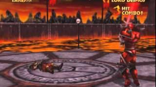 Mace: The Dark Age (MAME) Takeshi gameplay