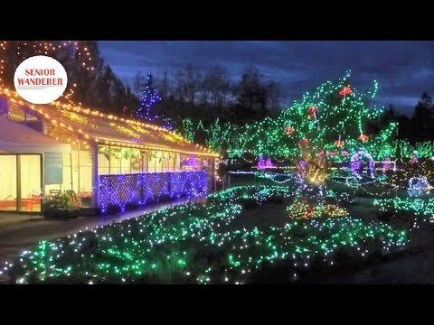 Vancouver street walk, EP 29 - Festival of Lights, VanDusen Botanical Garden