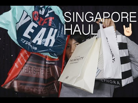 Singapore Haul + Tips and Trick Belanja di Singapore + Rekomendasi Tempat Singapore!
