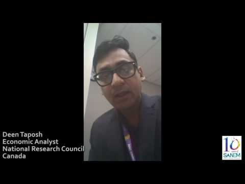 Deen Taposh, Economic Analyst, National Research Council, Canada