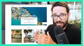 Hotel Website Design Review