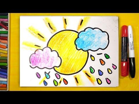 Видео уроки рисования гуашью для детей 7 лет