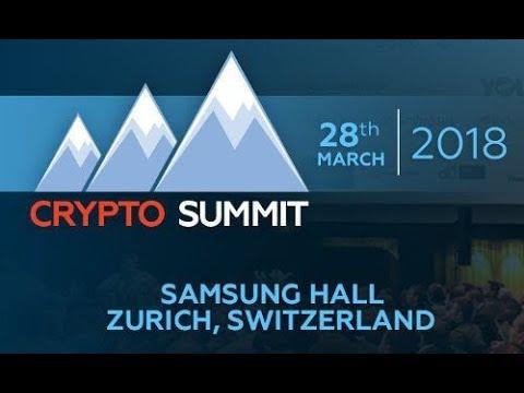 Utrust CIO Filipe Castro Presents at Crypto Summit 2018 in Zurich
