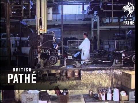 New Mini Production Line 1966