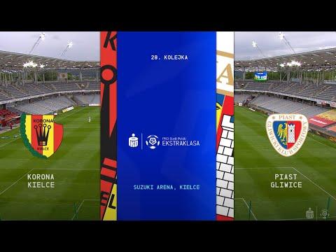 SKRÓT: Korona Kielce - Piast Gliwice   Ekstraklasa 28. Kolejka   2019/20