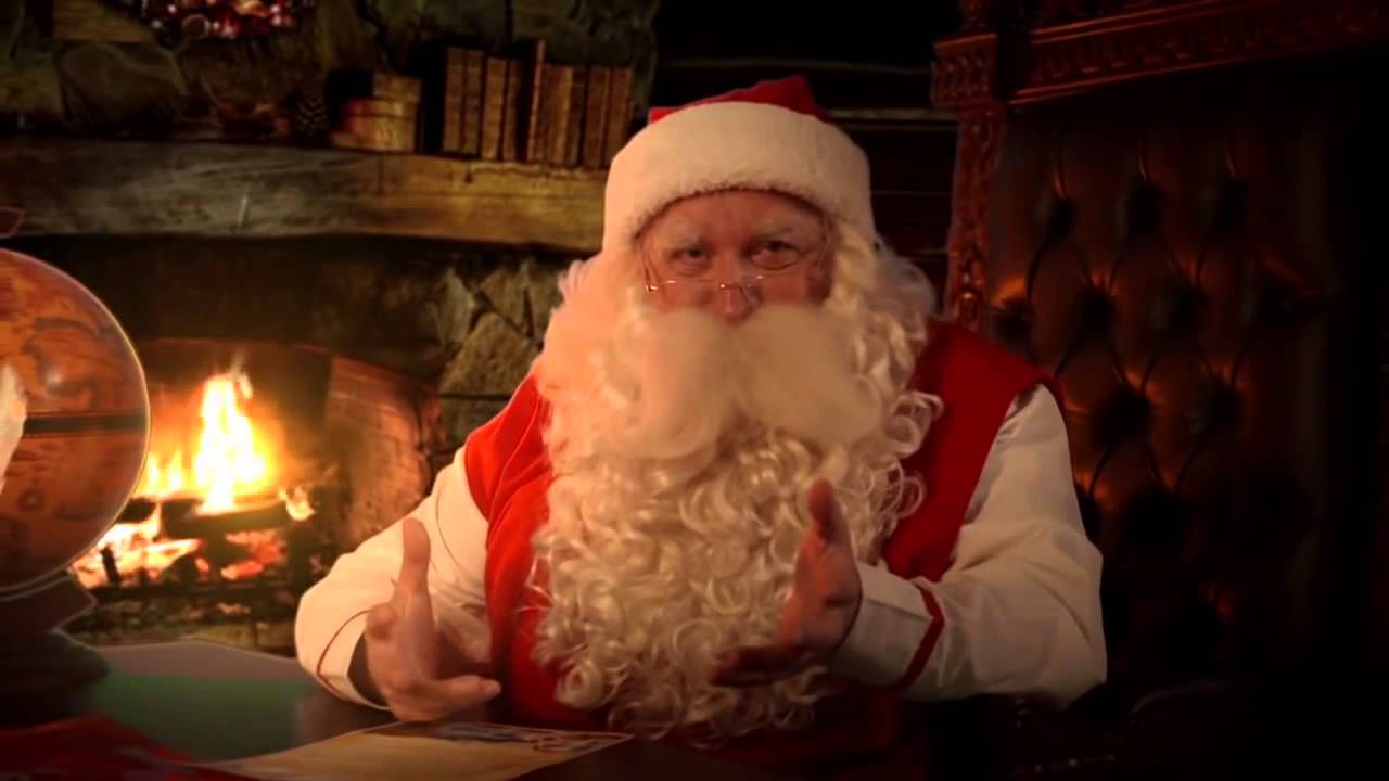 Babbo Natale Dove Vederlo.Video Di Babbo Natale