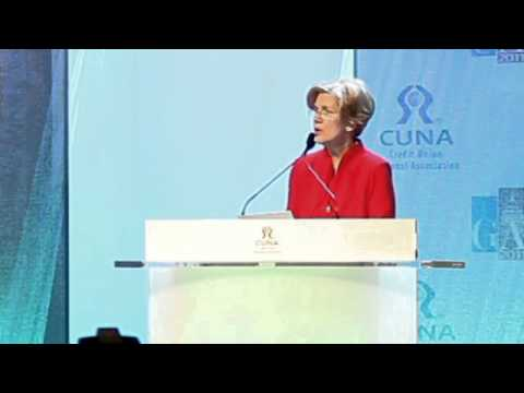 Elizabeth Warren's speech to the Credit Union National Association