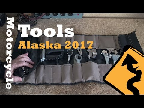 Tools for Our 2017 Motorcycle Trip to Alaska