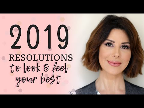 2019 New Year's Resolutions to Look & Feel Your Best! | Dominique Sachse Mp3