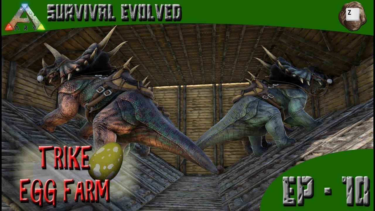 ARK: Survival Evolved - Trike Egg Farm - Series Z - EP-10