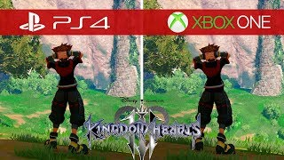 Kingdom Hearts 3 Comparison - Xbox One vs. Xbox One S vs. Xbox One X vs. PS4 vs. PS4 Pro