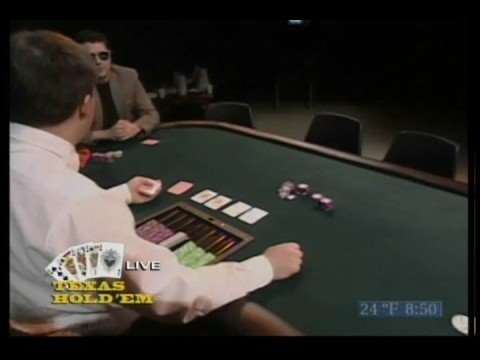 Fig plays poker Fox 8 Cleveland 2/2005