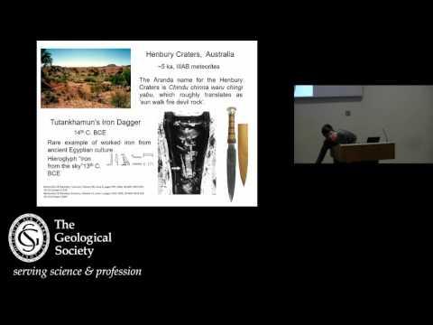 London Lecture:  Space rocks, rockets and robots  April 17
