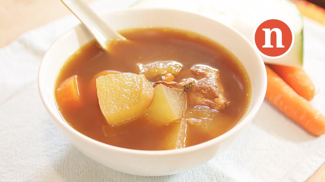 Winter Melon Soup - YouTube